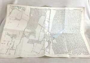 1875 Antique Map of Slough Upton Cum Chalvey Chiltern Hundreds Buckinghamshire