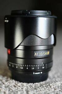Viltrox AF 33mm F/1.4 STM Lens for Fujifilm X Mount - Fantastic!