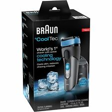 NIB Braun CoolTec CT5CC World 1st Shaver With Active Cooling Tech Razor