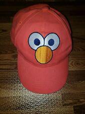Sesame Street Elmo Face Red Fitted Baseball Cap Hat OSFM