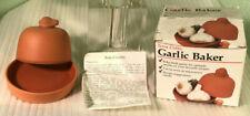 Vintage Corning Revere Terra Cotta Garlic Baker in Original Box