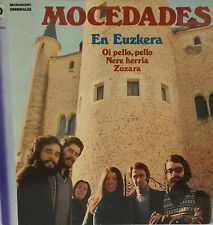 """MOCEDADES - EN EUZKERA LP 12"""" SPAIN 1982 GOOD CONDITION"""