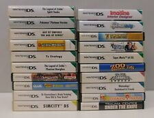 Nintendo DS game collection - 20 titles.