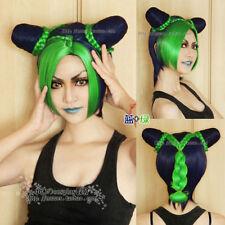 Sexy Jojo's Bizarre Adventure Stone Ocean Jolyne Kujo Cosplay Wig Japaness #g02