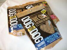 Dog Treats Dog Chews Dog Food Dog Protein Bites Chicken Bacon 3 Bags 10 oz