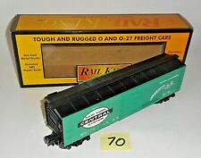 MINT 30-7414 MTH RAIL KING O / 027 NEW YORK CENTRAL SYSTEM SEMI SCALE BOX CAR 70