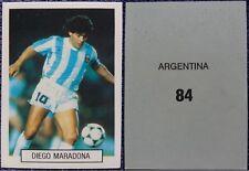 Diego Maradona n.84 Argentina - figurina adesiva Adhesive sticker  5x7cm #a
