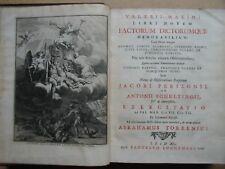 1726. Valerius Maximus. Valerii Maximi Libri Novem Factorum Dictorumque Memorabi
