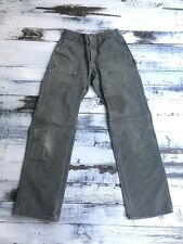 Carhartt Vintage Double Knee Olive Green Usa Made Pants 28x32