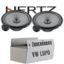 Hertz Lautsprecher für VW Lupo Front Einbauset Boxen Tür vorne Front Paar System