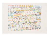 Nam June Paik, Lithografie, signiert und nummeriert.