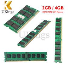 2GB/4GB DDR2 DDR3 Memoria Ram PC2-5300/U PC 200/240Pin 667/800/1600MHZ para AMD