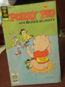VINTAGE GOLD KEY COMIC BOOK 1977 PORKY PIG AND BUGS BUNNY