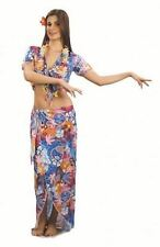 New Ladies Womens Girls Hawaiian Beauty Fancy Dress Costume Aloah Adults Outfit
