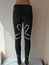 Ladies Black MXDC Sport Cycling Leggings Tight Size M Padded