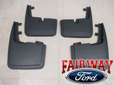 15 thru 20 F-150 OEM Ford Molded Splash Guards Mud Flaps WITHOUT Wheel Lip Mldg
