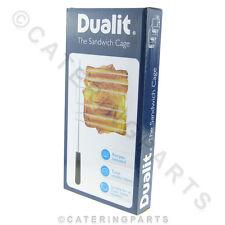 DUALIT 00499 Classic Vario NEWGEN Sandwich Toaster GABBIA BOXED-libera composizione libro