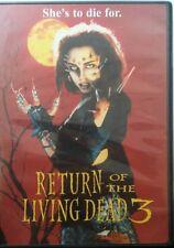 Return of the living dead 3 U.S. region 1 DVD vg horror