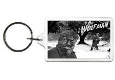 THE WOLF MAN KEYCHAIN - DOUBLE SIDED ACRYLIC KEYRING