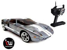 NEW IWAVER 02M FORD GT 40 GREY RC CAR 1:28 FM RTR MINI-Z