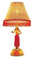 "Hawaiian  Hawaii Motion Vintage Hula Lamp ~ Hula Girl In Dancing Pose 26"" #50005"