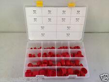 Hydraulic JIC Plastic Cap and Plug Kit Set 120pc 6 Sizes