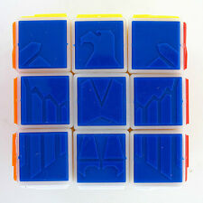 Ghost Hand Tiled Eagle Carving 3x3 3x3x3 Speedcubing Magic Cube Twist Puzzle