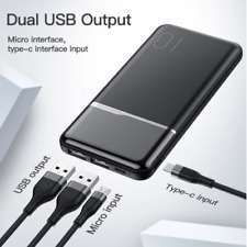 Power Bank 10000MAh Portable Charging For Mi 9 8 IPhone USB Battery Charger