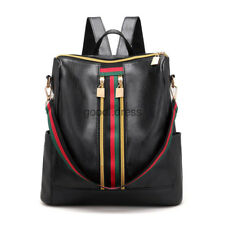 Fashion Women Backpack Travel Shoulder Bag Girls Ladies PU Leather Rucksack