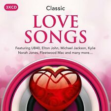 CLASSIC LOVE SONGS 3CD SET - VARIOUS ARTISTS (New Release January 13th 2017)