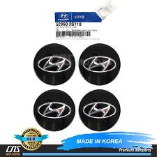 GENUINE Wheel Center Cap 4EA for Hyundai Azera Santa Fe Sonata Tucson 529603S110