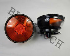 Rear Combination Tail Light Amber fits Willys Jeep CJ3 CJ5 CJ6 CJ2A CJ3A CJ3B