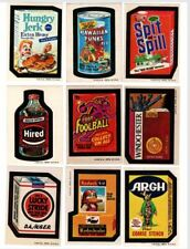 1973 Topps Wacky Packages 3rd Series 3 With Dr. Ono Complete Set 30/30 EX+