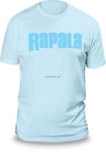 NEW Rapala Fishing Next Level T Shirt Ice Blue / Blue Logo M RNLT9034M