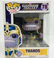 Thanos Guardians of the Galaxy POP Marvel 78 Funko POP Vinyl Fig 6in NEW VAULTED
