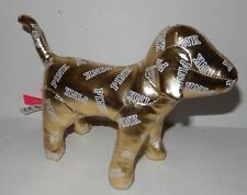 New VICTORIA'S SECRET PINK MINI DOG GOLD BLING Fashion Show 2014 Exclusive