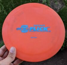 Rare First Run Z FLICK Discraft Disc Golf USED 171g Flat and Overstable