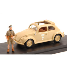 VW AFRIKAKORPS TYP 87 LIBIA 1941 WITH FIGURE UFFICIALE TEDESCO 1:43 Miniminiera