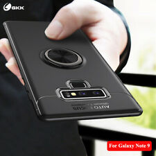 GKK For Samsung Note 8/9 Finger Ring Luxury Cover Magnetic Bracket Protect Case