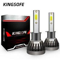 2 Ampoule H1 LED Phare Voiture 6000K 12000LM Feux Remplacement HID Xénon Lampe