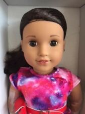 American Girl Luciana + Book + Pierced Earrings - Genuine ( See Description )