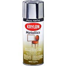 Krylon 1401 Special Purpose Indoor Fast-Dry Bright Silver Metallic Spray Paint