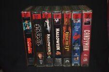 HORROR VHS LOT - Halloween, Friday The 13th, Nightmare on Elm Street, Candyman