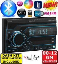 GMC SIERRA TRUCK & SAVANA VAN Usb Bluetooth Radio Stereo Double Din Dash Kit