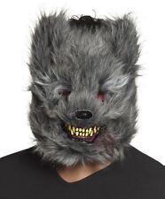 Horror Werewolf Mask Wolf Halloween Killer Animal Adult Fancy Dress
