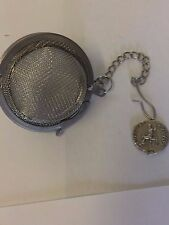 Denarius Of Nero Pewter Coin WC21 Tea Ball Mesh Infuser Stainless Steel Strainer