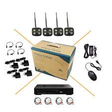 4CH 1080P Audio Wireless WIFI Security System AP IP Camera HD Outdoor P2P CCTV