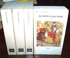 LE MILLE E UNA NOTTE completo in 4 voll. ed. Gli Struzzi Einaudi 1980
