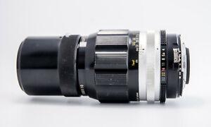 Camera Lens/Objetivo. Nikon Nikkor 200mm f4 Auto Pre Al. Circa 1971.EXCELLENT