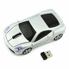 Cordless 2.4Ghz Wireless car Mouse optical PC Laptop Mice +USB Receiver US Local